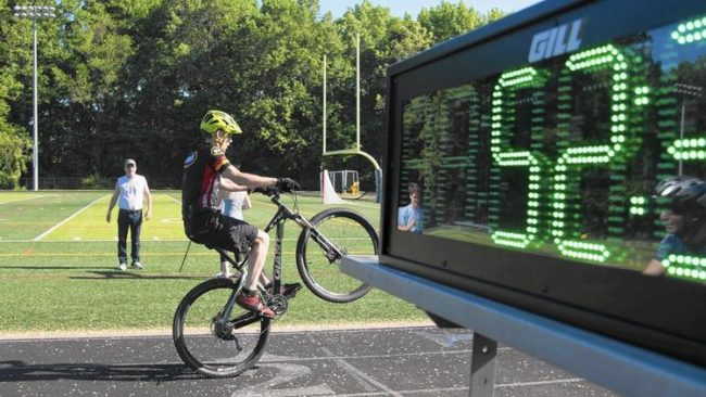 Najdłuższy dystans najednym kole - rekord