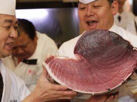 Najdroższy tuńczyk świata - rekord Guinessa