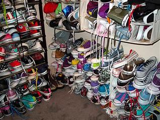 Największa kolekcja - buty Converse - rekord Guinessa