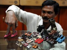 Największa kolekcja miniaturowych butów