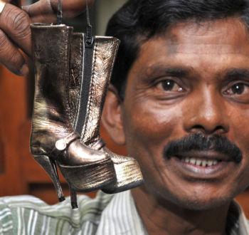 Największa kolekcja miniaturowych butów - rekord Guinessa