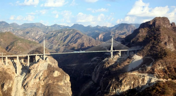 Najwyższy most wiszący – rekord Guinessa