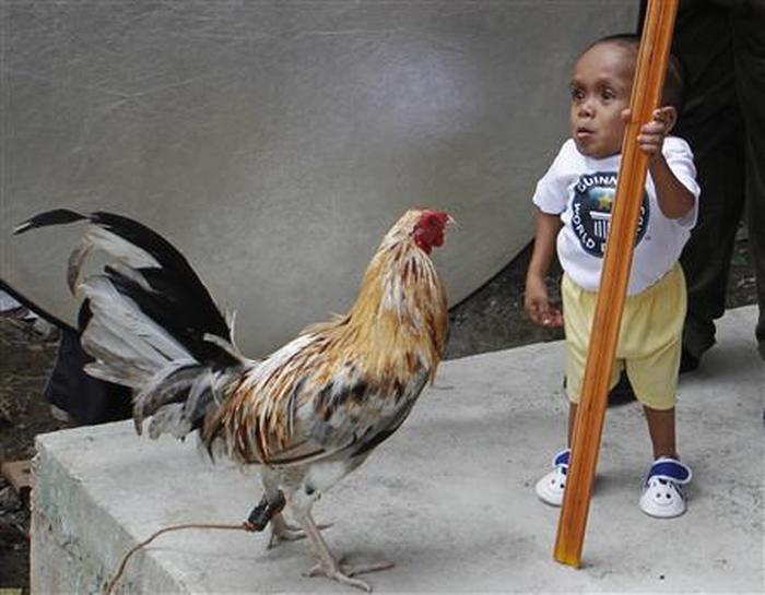 Junrey Balawing - najmniejszy człowiek świata