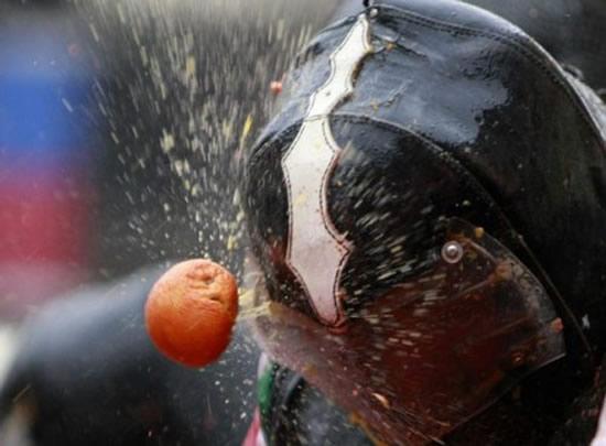 Największa bitwa na pomarańcze – rekord Guinessa