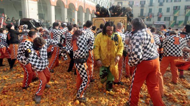 Pomarańczowa bitwa - rekord Guinessa