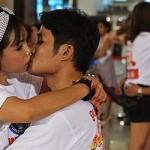 Całowanie - rekord świata