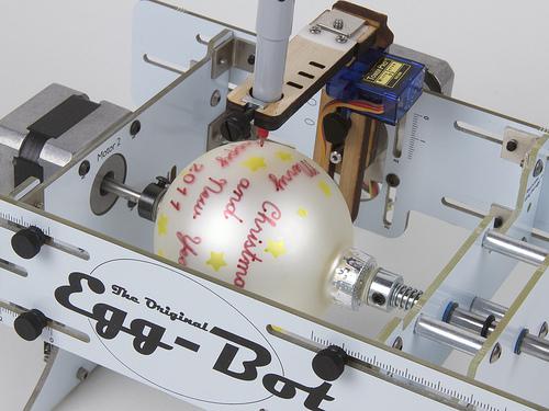 Egg bot - robot malujący pisanki