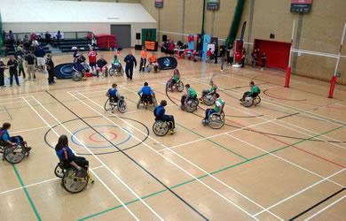 Najdłuższy mecz rugby nawózkach inwalidzkich