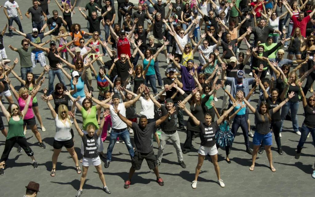 Największy flash mob