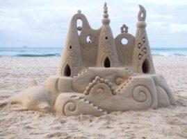 Budowanie zamków z piasku – rekord Guinessa