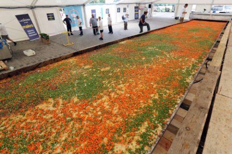 Największa lasagne naświecie - polski rekord Guinessa