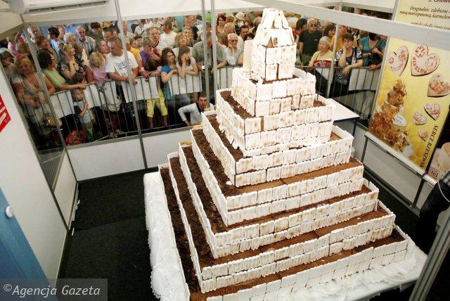 Największy tort świata – polski rekord Guinessa