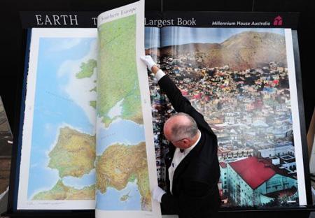 Największy atlas naświecie - rekord Guinessa
