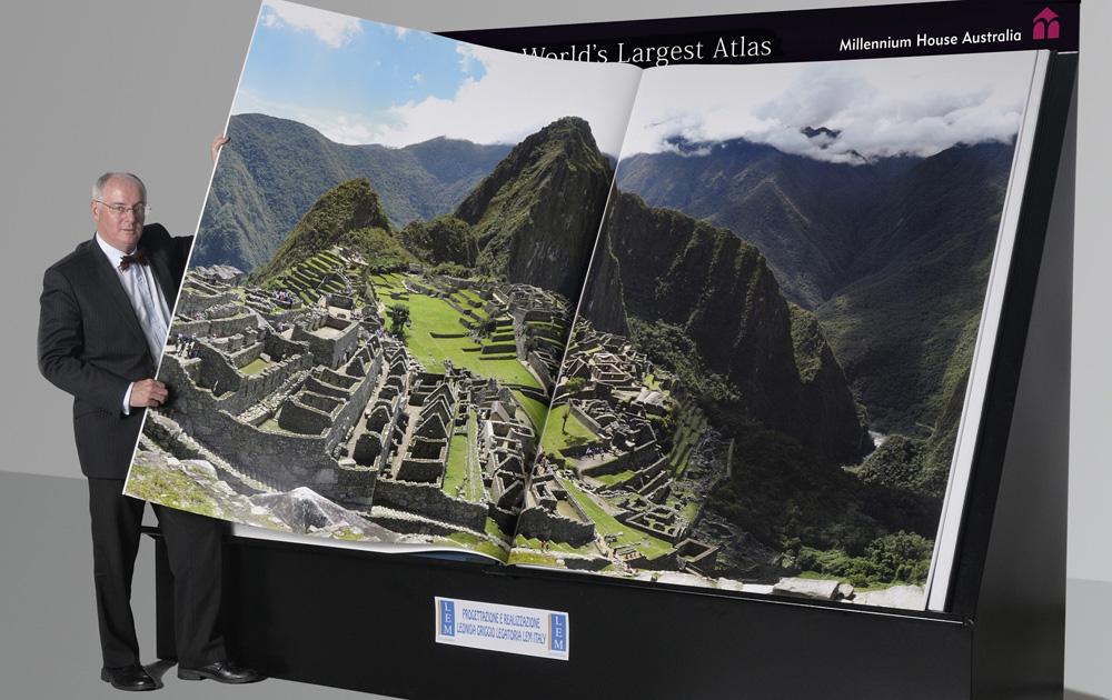 Największy atlas naświecie