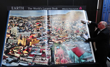 Największy atlas świata - rekord Guinessa