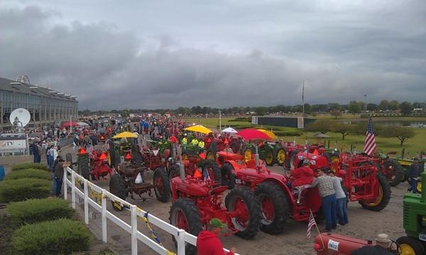 Największa parada traktorów