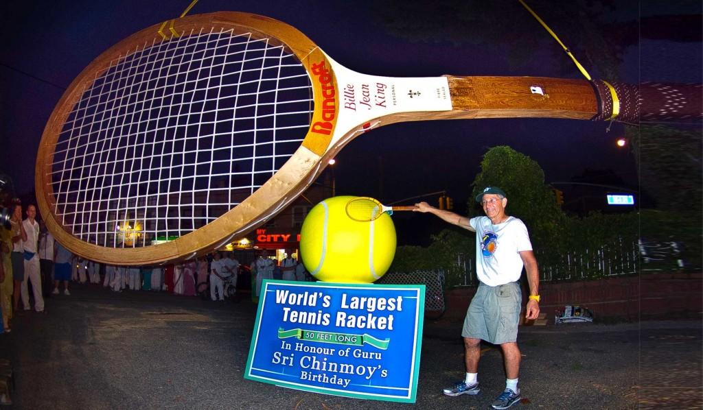 Największa rakieta tenisowa na świecie