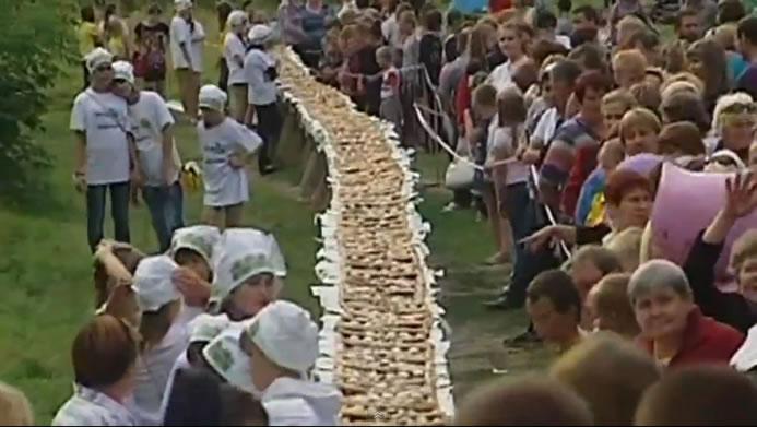 Największe ciasto zjagodami