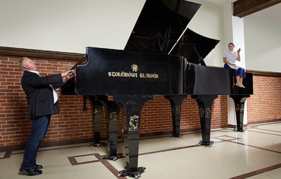 Największy fortepian - Rekord Guinnessa