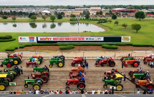 Traktory - rekord Guinessa