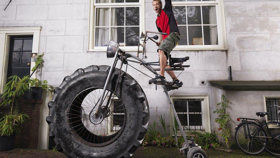 Najcięższy rower świata - rekord Guinessa