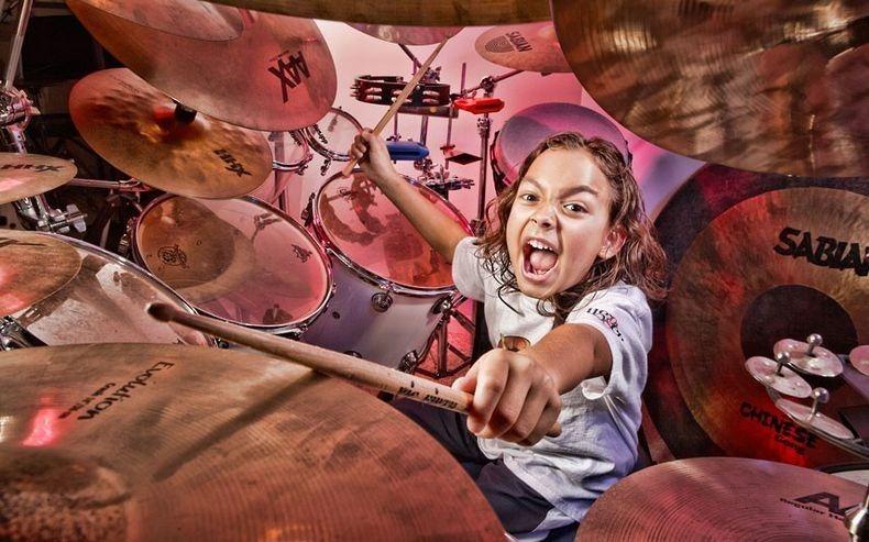 Najmłodszy perkusista - rekord