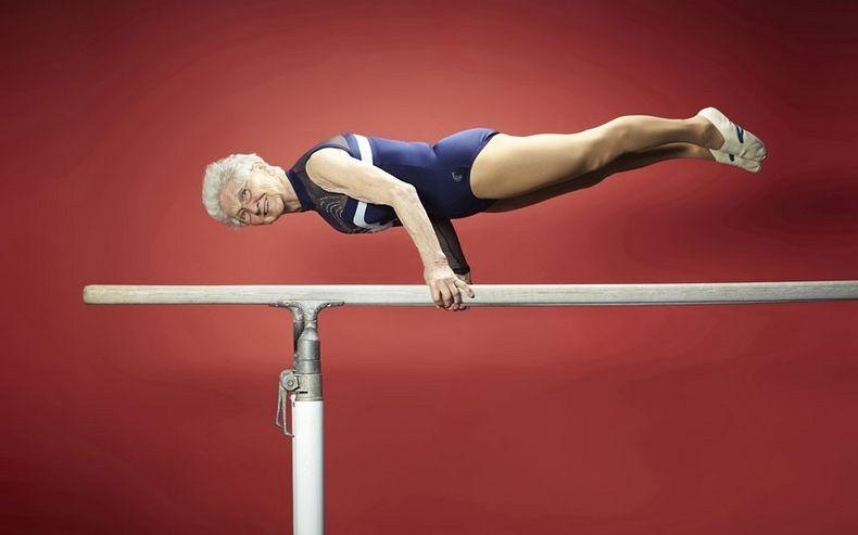 Najstarsza gimnastyczka naświecie
