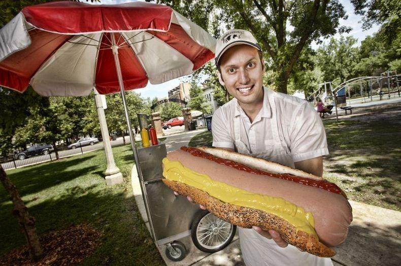 Największy hot-dog naświecie