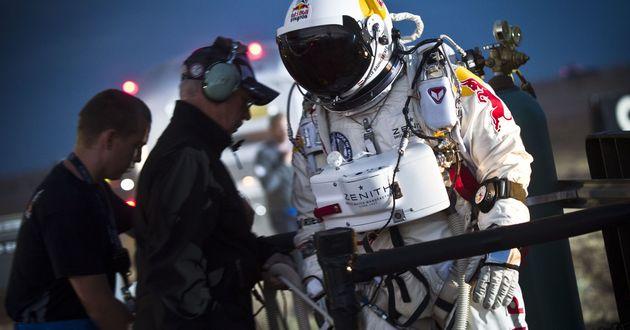 Felix Baumgartner - rekordowy skok