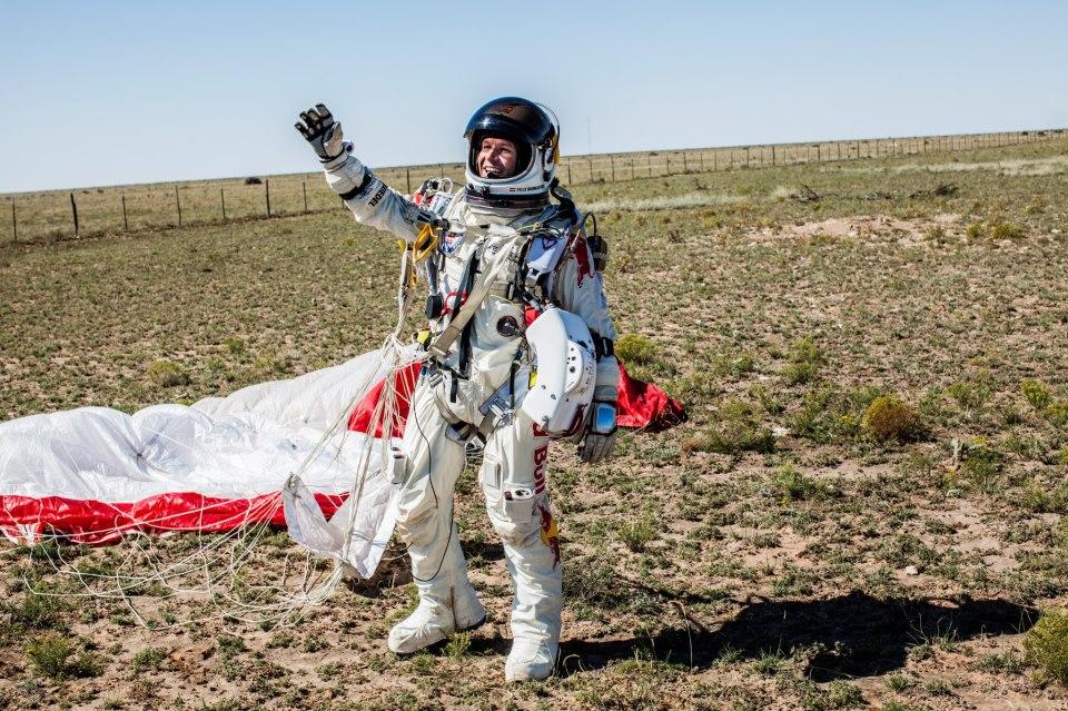 Felix Baumgartner – pobite rekordy