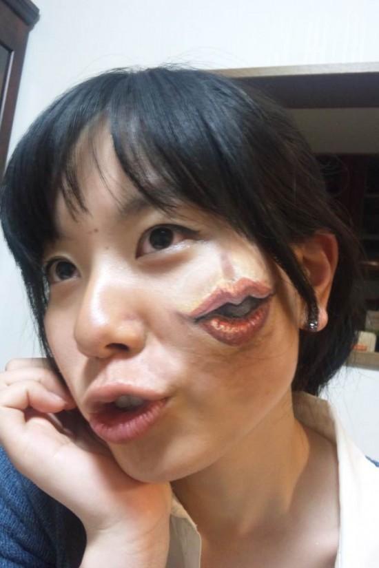 najdziwniejszy makeup