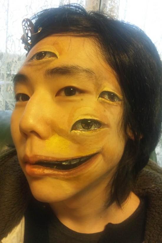 najdziwniejszy makijaż