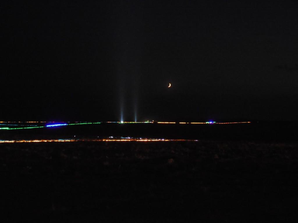 Największy obraz zżarówek LED – rekord
