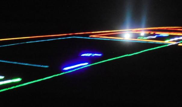 Największy obraz zżarówek LED