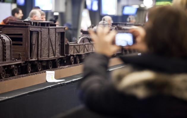 Najdłuższa czekoladowa rzeźba - rekord Guinessa
