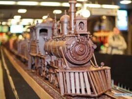 Najdłuższy pociąg z czekolady