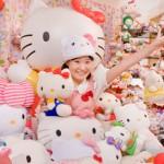 Najwięcej przedmiotów z Hello Kitty