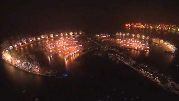 Największy pokaz fajerwerków - Dubaj