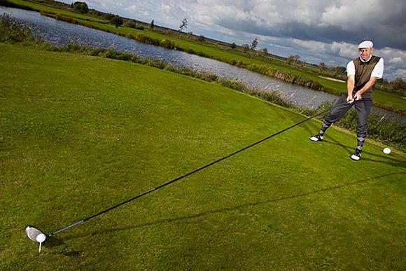 Golf - najdłuższy kij