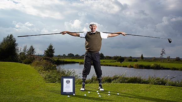 Najdłuższy kij golfowy - rekord Guinessa