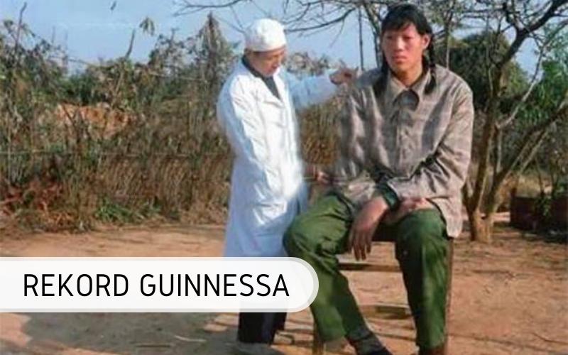 rekord Guinnessa - najwyższa kobieta świata