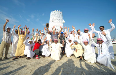Wieża zpuszek - rekord Guinessa