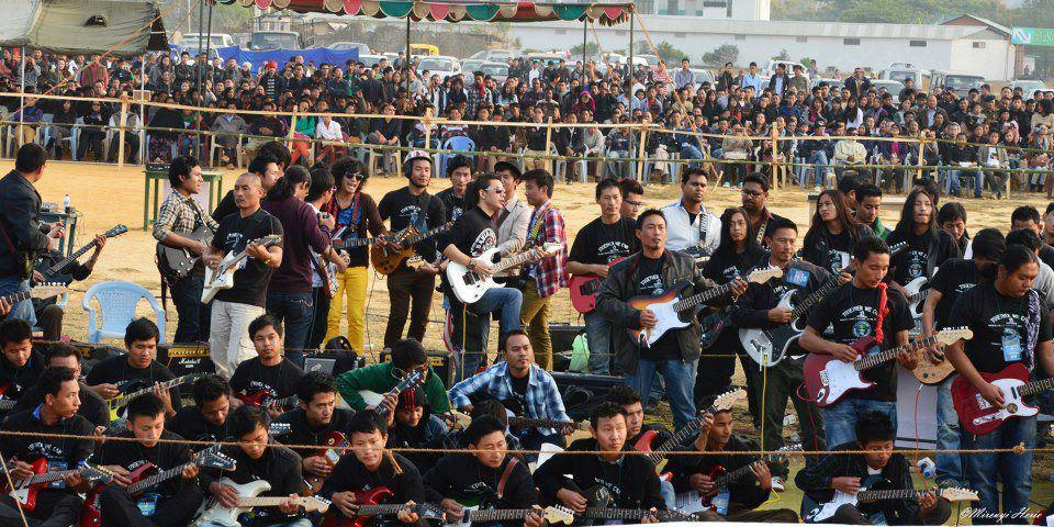 Gitary elektryczne - rekord Guinessa