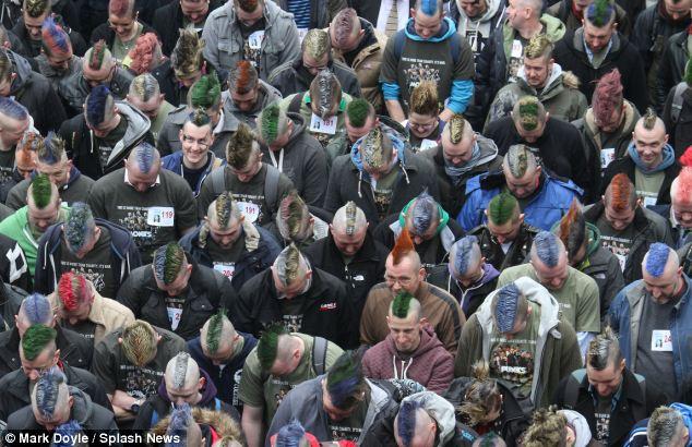 Irokezy dla chorych na raka – irlandzki rekord
