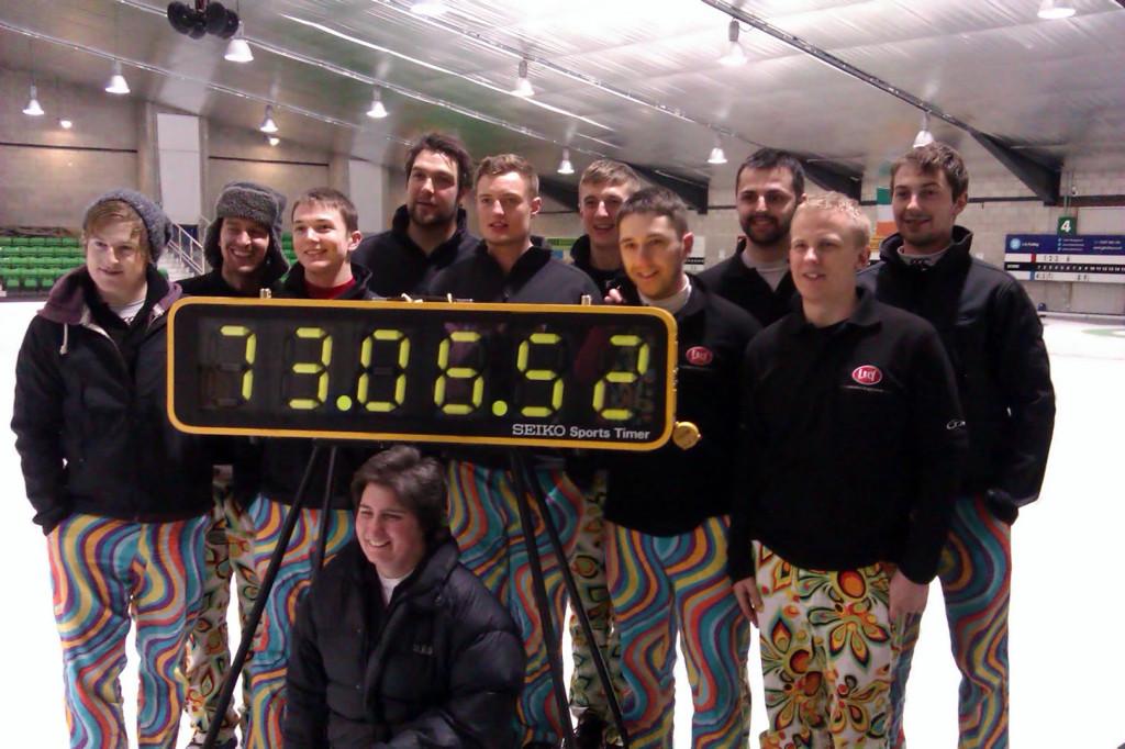 Najdłuższa gra wcurling - rekord Guinessa