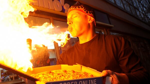 Najostrzejsza pizza - rekord świata