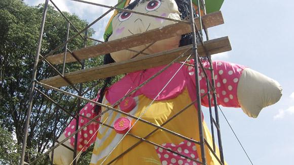 Największa lalka szmaciana