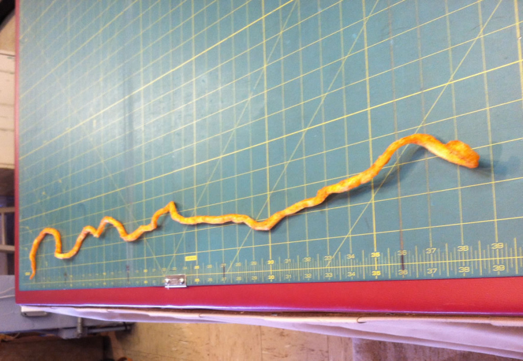 Najdłuższe curly fries