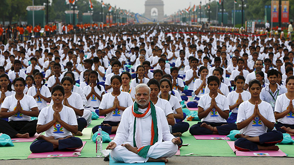 Największa lekcja jogi