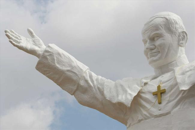 Największy pomnik papieża